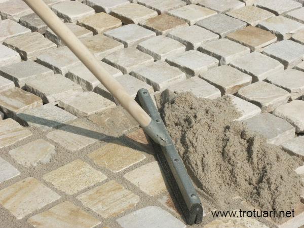 Затирка для тротуарной плитки- песок
